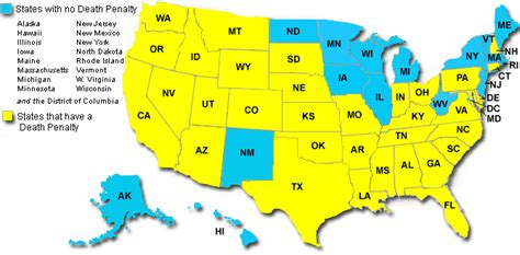 map of us states that the penalty nebraska state legislature votes to repeal the