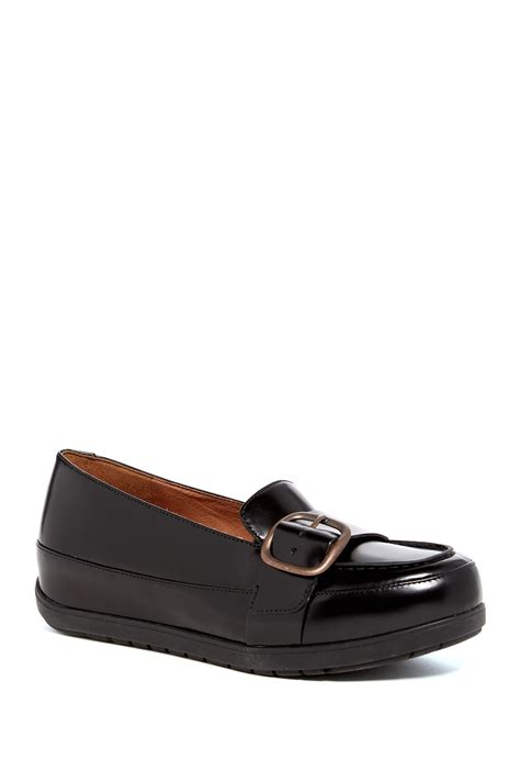 all black loafers fitflop beau loafer all black