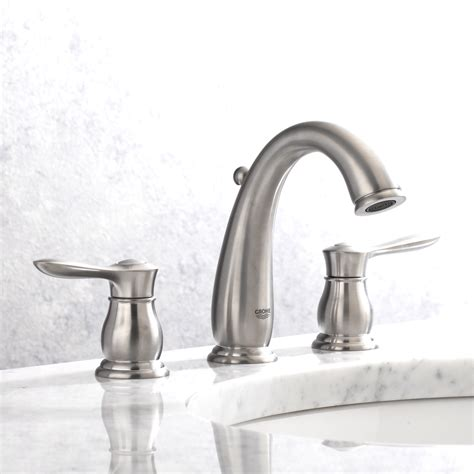 bathroom faucet ideas grohe bathroom faucets brushed nickel