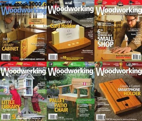 canadian woodworking full year  collection