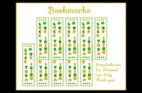 printable good luck bookmarks 1000 images about get lucky on pinterest luck of the