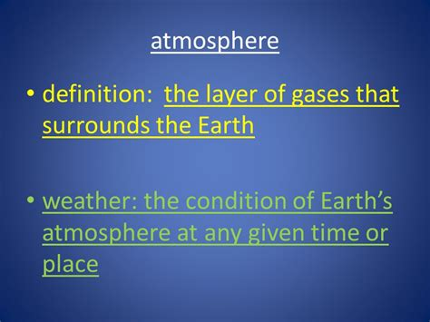 ambiance definition the atmosphere ppt download