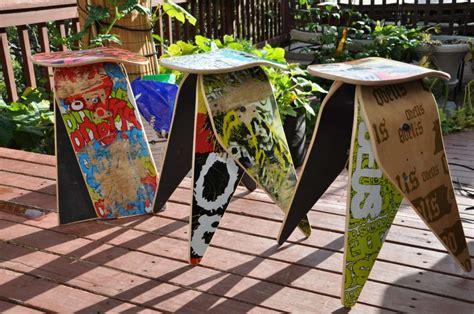 sgabelli moderni arredare con il riciclo creativo foto tempo libero