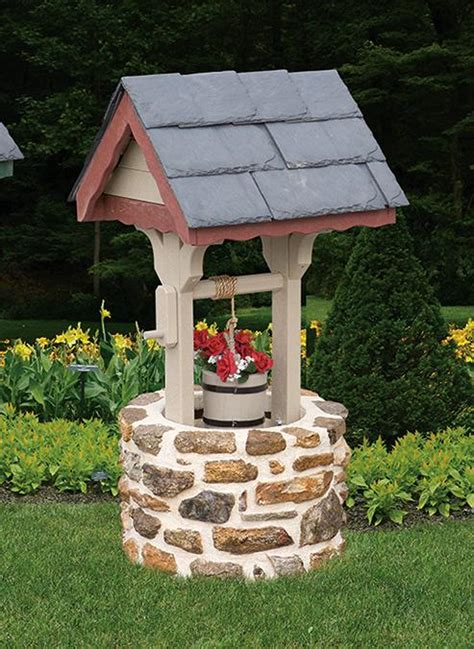 Garden Well by Amish Lawn Wishing