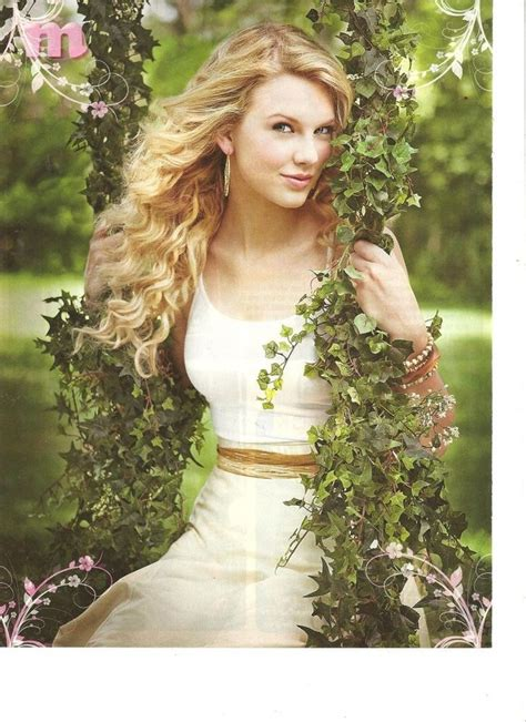 taylor swing taylor swift full page pinup in an ivy swing