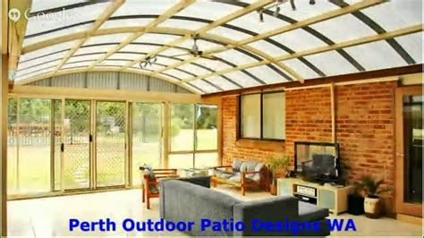 backyard patio roof ideas perth outdoor patio roofing ideas youtube