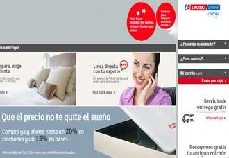 almohadas eroski eroski inaugura su tienda online especializada en descanso