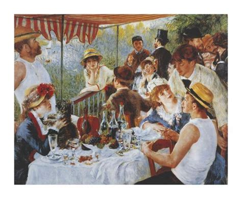 luncheon of the boating party by pierre auguste renoir analysis luncheon of the boating party premium giclee print by