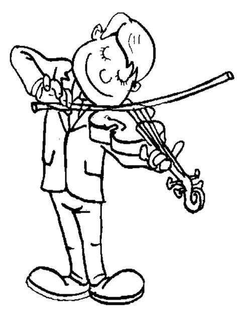 playing violin coloring page free coloring pages of violin para colorear