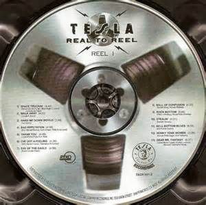 Tesla Reel To Reel Tesla Bust A Nut 1994 Covers Covers Resource