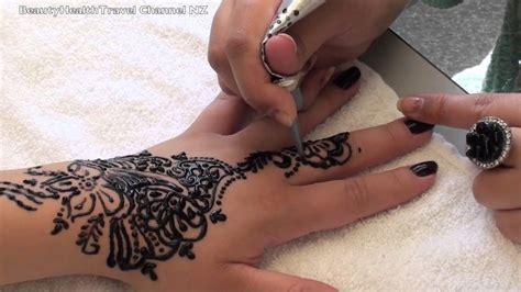 tattoo hand fake temporary tattoo on hand and arm youtube