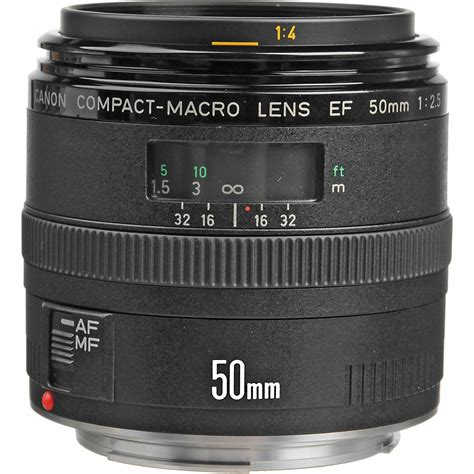 macro lens canon ef 50mm f 2 5 compact macro lens 2537a003 b h photo