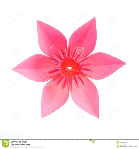 2d Origami Flower - origami flower stock photography image 13024832