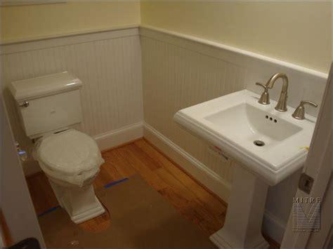 powder rooms with wainscoting wainscoting chair rail powder room beadboard wainscot