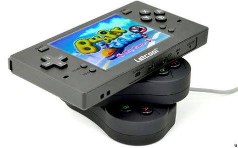 handheld emulator console letcool handheld console emulator ubergizmo