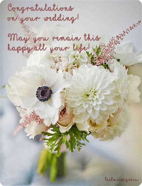 Wedding Wishes Words by 70 Wedding Wishes Quotes Messages With Images