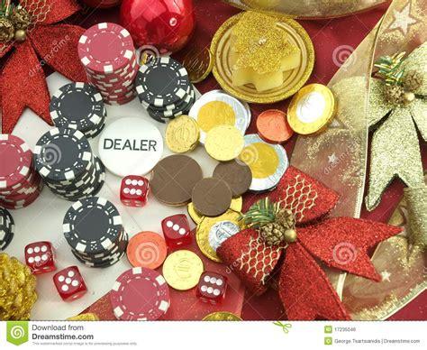 christmas casino background royalty free stock image