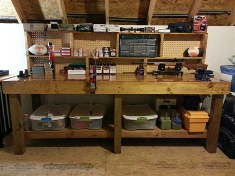 reloading bench images  pinterest woodworking