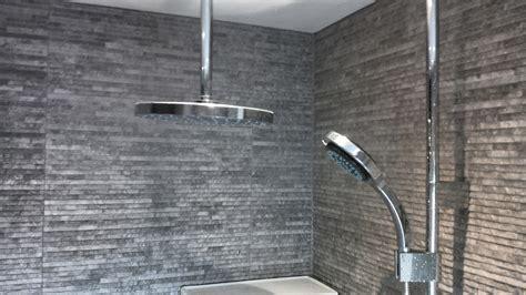 Renovation Ideas For Bathrooms mira ceiling fed digital shower london bathroomslondon