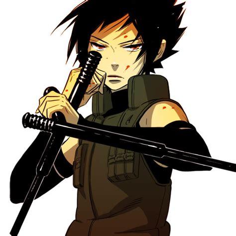 Jaket Uciha Sasuke Blue hoshino zerochan anime image board