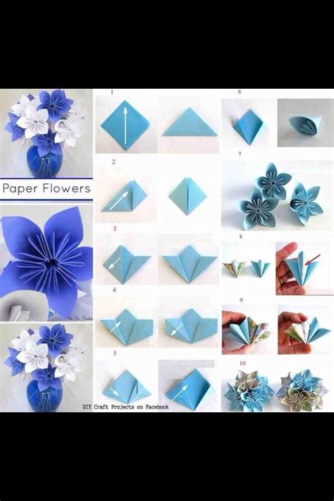 Easy Origami Flowers For Beginners - new simple origami flower for beginners origami