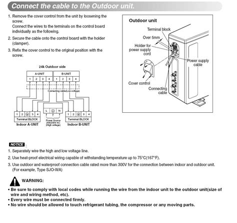 pioneer mini split wiring diagram pioneer mini split parts