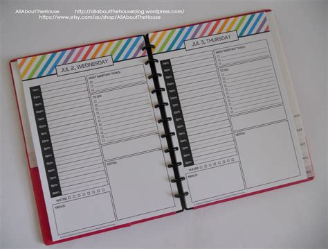 printable daily planner pages 2015 301 moved permanently