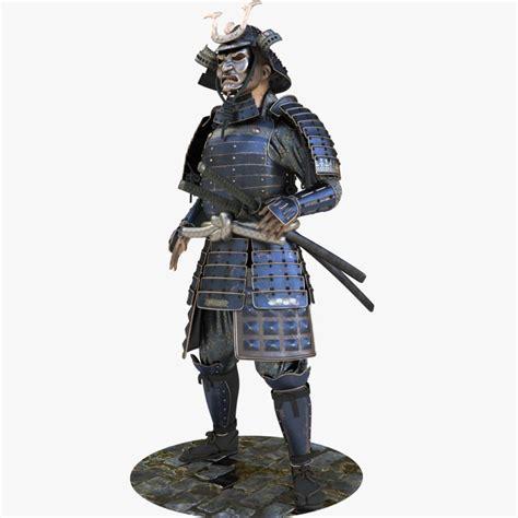 Model Samurai samurai armor 3d model turbosquid 1200566