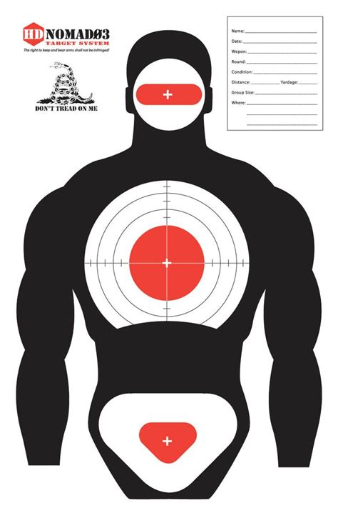 printable targets human 53 best images about targets on pinterest targets for