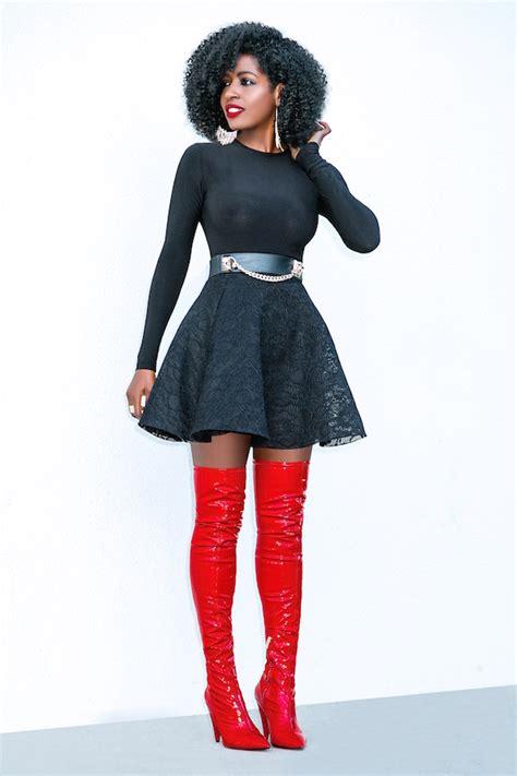 style pantry sleeve flounce skirt otk boots