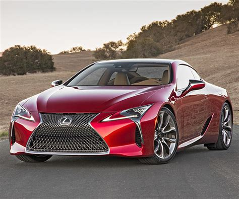 lexus lc  performance coupe prices announced