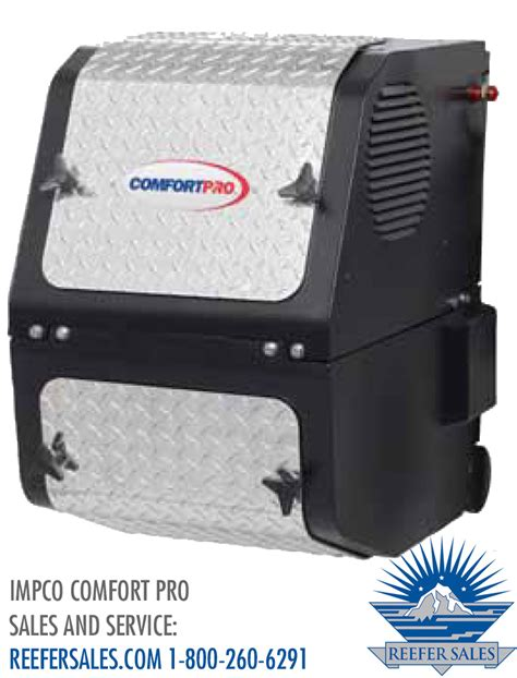 carrier comfort pro apu impco comfort pro pc6022 atlantic carrier