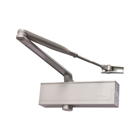 Door Closer by Briton 1110 Door Closer Silver Ironmongerydirect