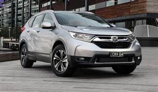 Honda Crv Pricing 2018 Honda Cr V Pricing And Specs Turbo Five And Seven
