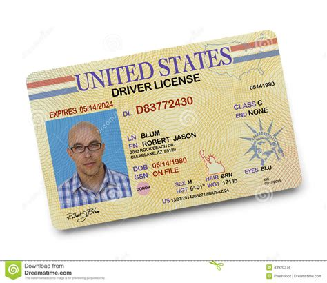 Criminal Record By Drivers License Driver License Stock Photo Image 43920374