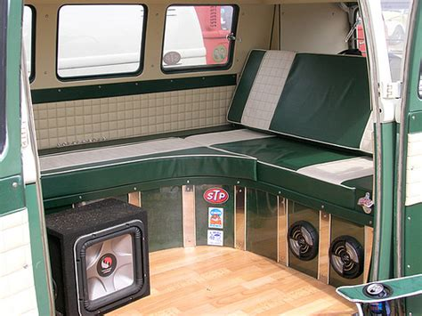 volkswagen van interior ideas vw cer van interior flickr photo sharing