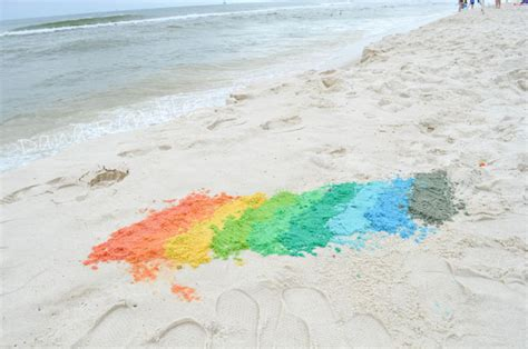 color of sand how to dye sand at the and make colorful sand castles