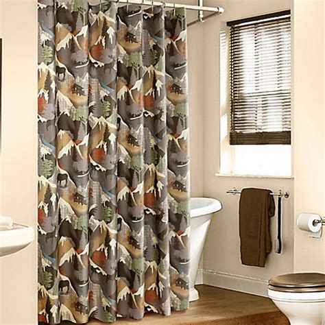 bed bath and beyond mountain view mountainview shower curtain bed bath beyond