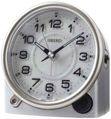 seiko qhe143alh alarm clock at the clock depot on sale free shipping