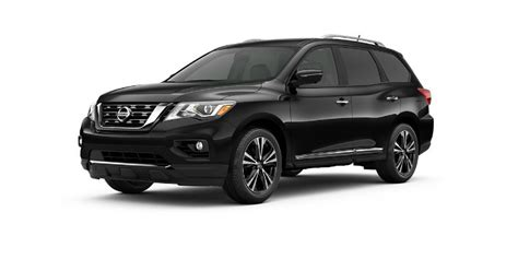 nissan pathfinder 2017 black 2017 nissan pathfinder color options