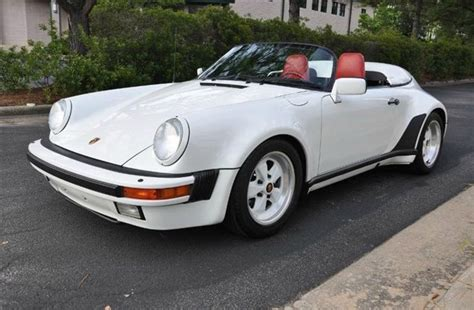 porsche speedster for sale 1989 porsche 911 speedster german cars for sale blog