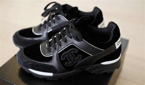 Sneaker Sport Shoes Chanel 8576 these chanel sneakers allway s on the run
