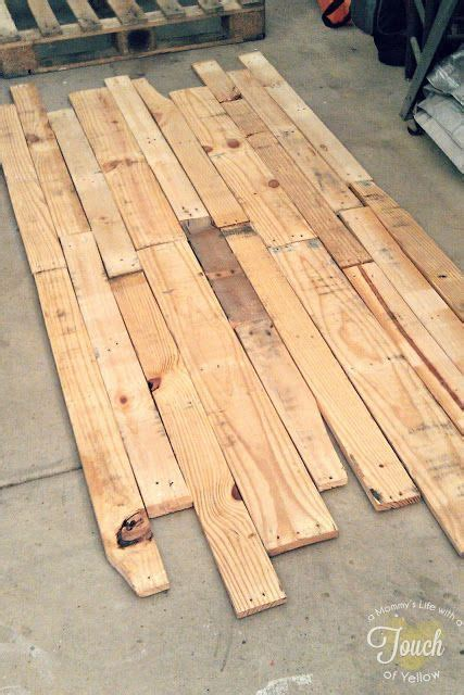pallet headboard instructions diy pallet headboard tutorial diy pinterest