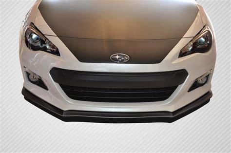 subaru brz front bumper 13 16 subaru brz st c carbon fiber creations front bumper
