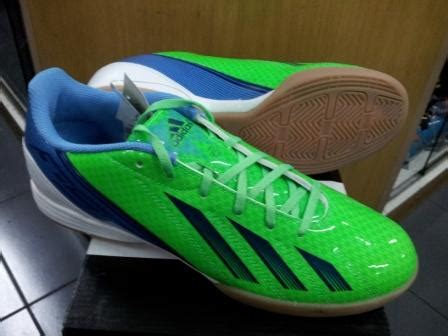 Sepatu Futsal Adidas F10 New Adizero sepatu futsal adidas f10 new adizero hijau biru chexos