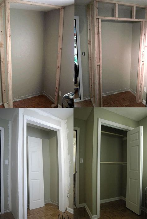 Building A Wardrobe - how to build a closet in an existing room for the home