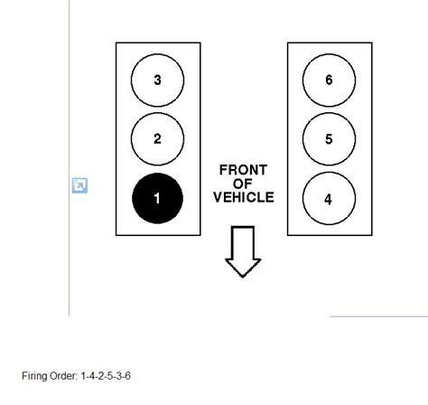 ford 2 5 v 6 firing order and diagram ignition wiring