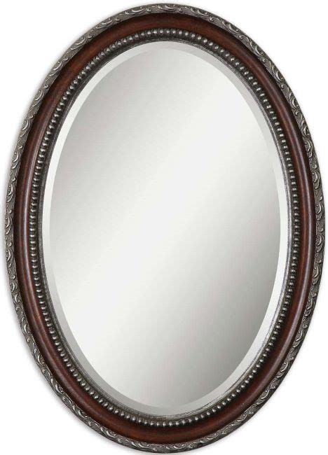 buy framed oval bathroom mirror from bed bath beyond image gallery oval mirror
