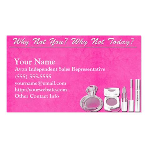 Free Avon Business Card Template Downloads by Avon Business Card Zazzle