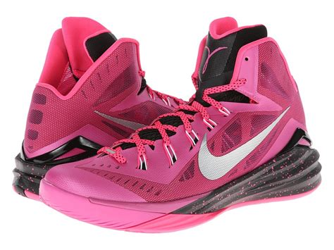 pink basketball shoes nike hyperdunk 2014 pink ii hyper pink white black